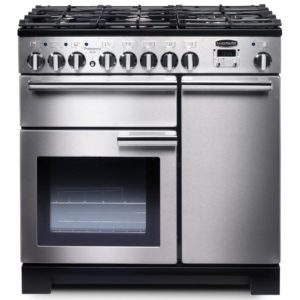 Rangemaster PDL90DFFSS/C Professional Deluxe 90cm Dual Fuel Range Cooker 97590 – STAINLESS STEEL