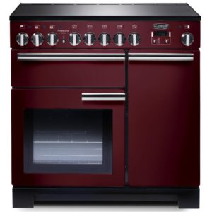 Rangemaster PDL90EICY/C Professional Deluxe 90cm Induction Range Cooker 97890 – CRANBERRY