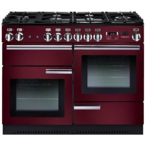 Rangemaster PROP110NGFCY/C Professional Plus 110cm Gas Range Cooker 91990 – CRANBERRY