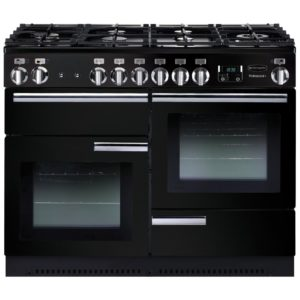 Stoves STERLING DX S1100GSS 4956 Sterling Deluxe 110cm Gas Range Cooker – STAINLESS STEEL