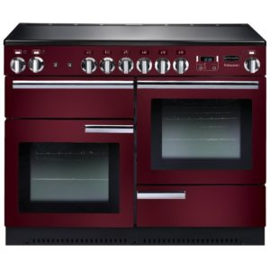 Rangemaster PROP110ECCY/C Professional Plus 110cm Ceramic Range Cooker 91890 – CRANBERRY