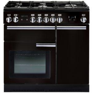Rangemaster PROP90NGFGB/C Professional Plus 90cm Gas Range Cooker 91930 – BLACK