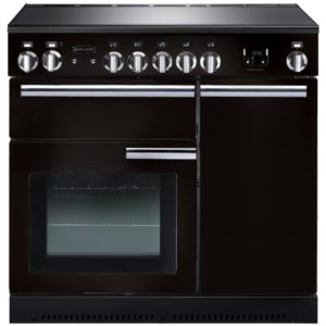 Rangemaster PROP90EIGB/C Professional Plus 90cm Induction Range Cooker 91730 – BLACK