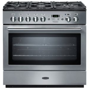 Rangemaster PROP90FXDFFSS/C Professional Plus 90cm Dual Fuel Range Cooker 89060 – STAINLESS STEEL