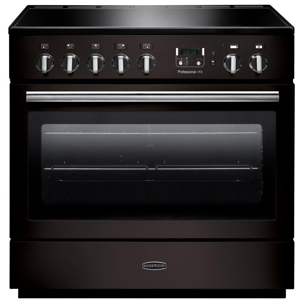Rangemaster PROP90FXEIGB/C Professional Plus 90cm Induction Range Cooker 96310 - BLACK