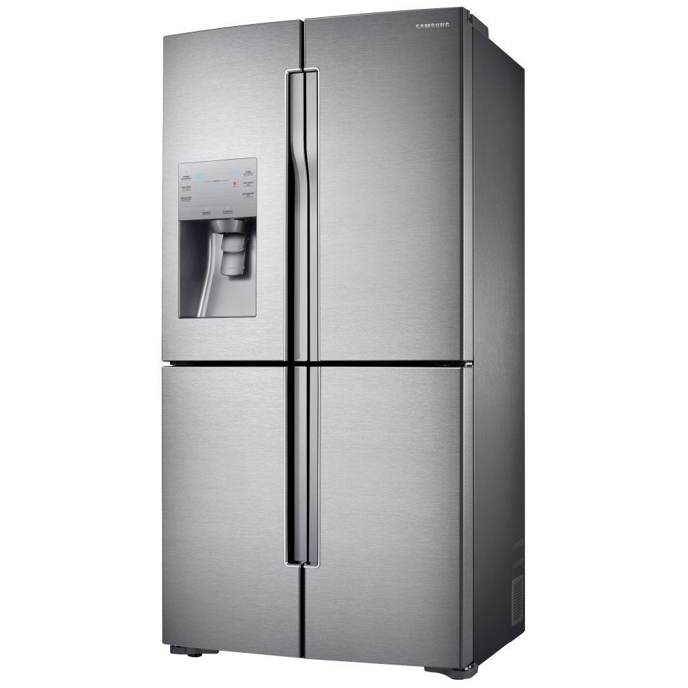 Samsung RF56J9040SR French Style RF9000 Four Door Fridge Freezer With Ice &  Water - STAINLESS STEEL