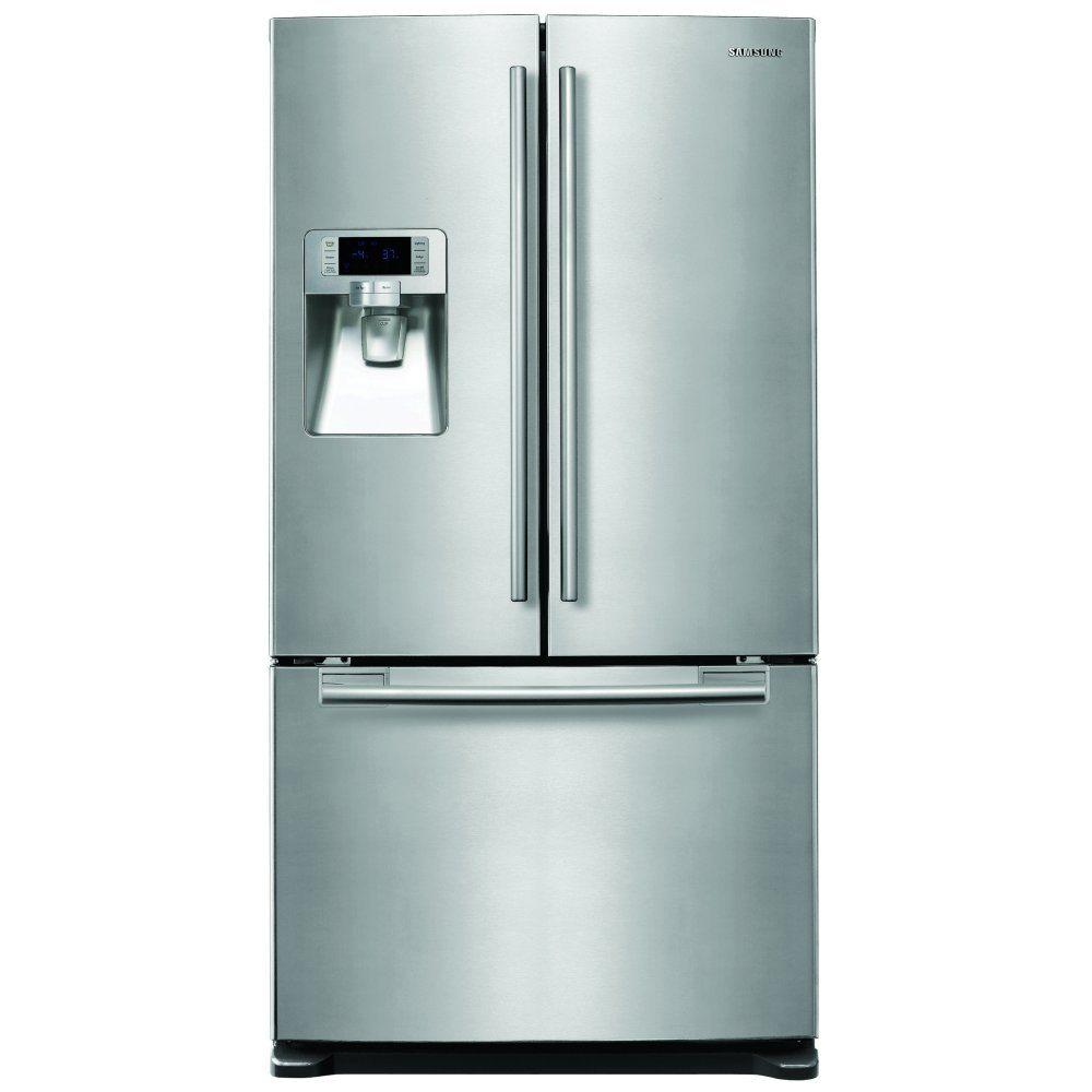SAMSUNG RFG23UERS American-Style Fridge Freezer - Silver