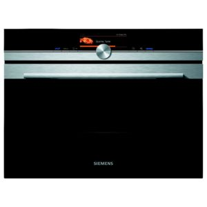 Siemens CM678G4S6B IQ-700 Compact Pyrolitic Oven With Microwave – STAINLESS STEEL
