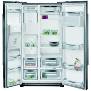 Siemens KA90DVI20G IQ-500 American Style Fridge Freezer With Ice & Water – STAINLESS STEEL