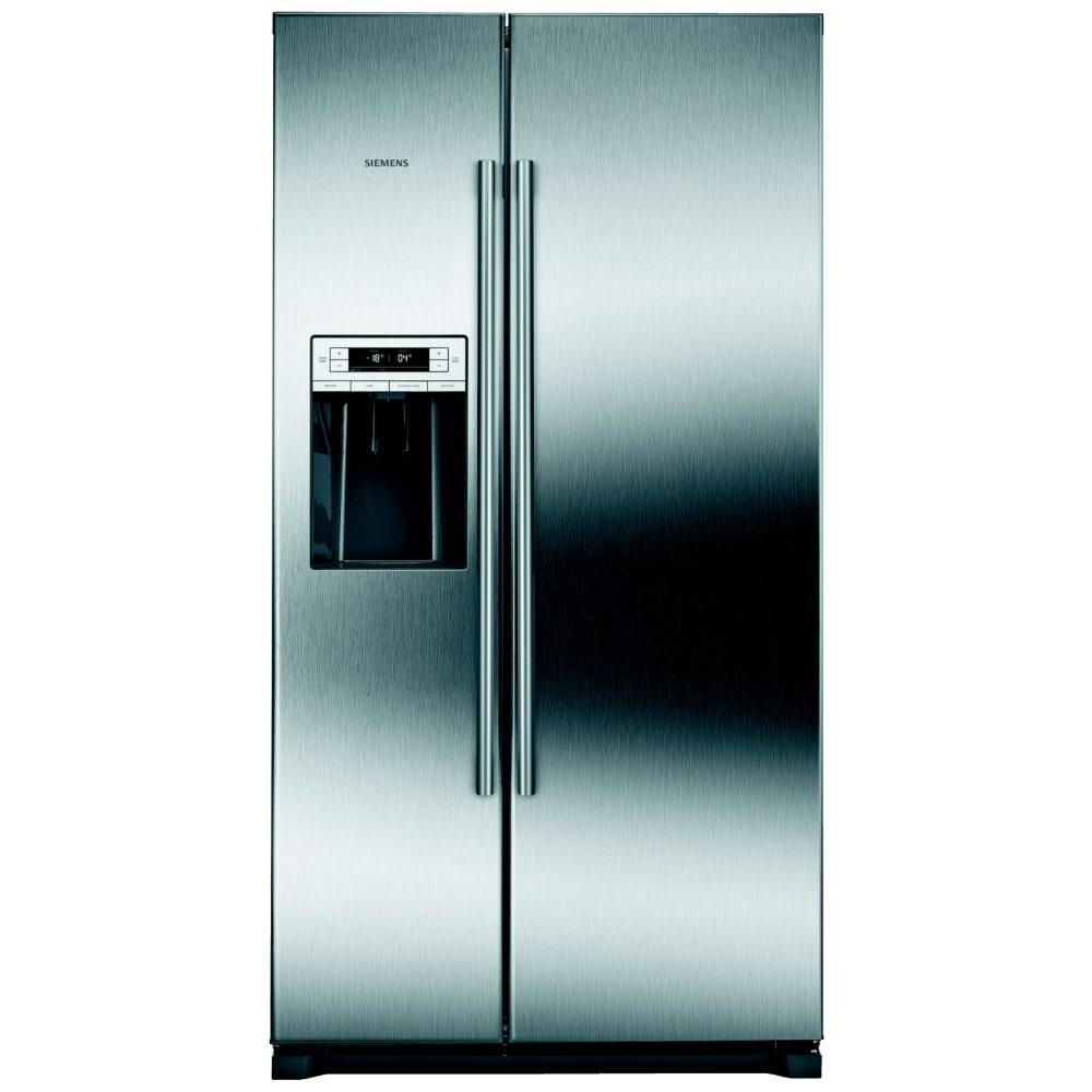 Siemens KA90IVI20G Side by Side Fridge Freezer in Inox-easyclean