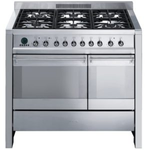 Smeg A2PY-8 100cm Opera Pyrolytic Dual Fuel Range Cooker – STAINLESS STEEL
