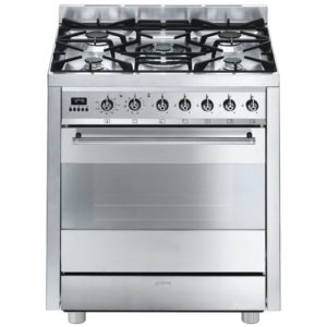 Smeg C7GPX8 70cm Symphony Pyrolytic Dual Fuel Cooker – STAINLESS STEEL