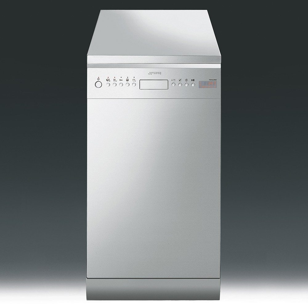 SMEG D4SS-1 Slimline Dishwasher - Stainless Steel