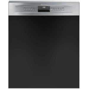 Smeg DD612 60cm Semi Integrated Dishwasher – STAINLESS STEEL