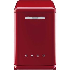 Smeg DF6FABRD 60cm Freestanding Retro Dishwasher – RED