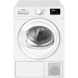 Smeg DHT71EUK-1 7kg Heat Pump Condenser Tumble Dryer – WHITE