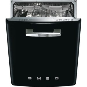 Smeg DI6FABBL Integrated Retro Style Dishwasher – BLACK
