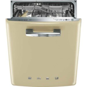 Smeg DI6FABCR Integrated Retro Style Dishwasher – CREAM