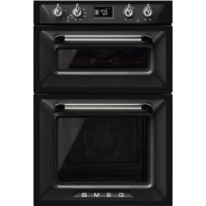 Smeg DOSF6920N1 Victoria Built In Double Oven – BLACK