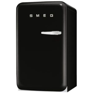 Smeg FAB10HLNE Black Retro Homebar Fridge Left Hand Hinge – BLACK