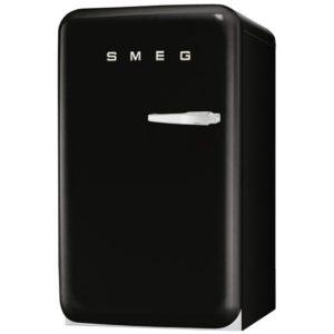 Smeg FAB10HLNE 55cm Retro Homebar Fridge Left Hand Hinge – BLACK