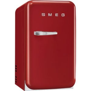 Smeg FAB5RRD Red Retro Mini Bar Fridge Right Hand Hinge – RED