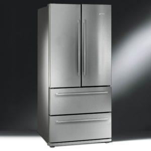 Smeg FQ55FX1 French Style Four Door Fridge Freezer Non Ice & Water – STAINLESS STEEL