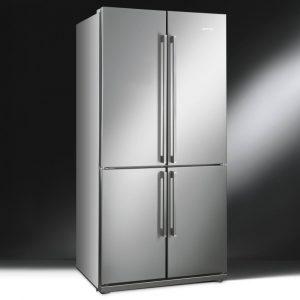 Smeg FQ60XP French Style Four Door Fridge Freezer Non Ice & Water – STAINLESS STEEL
