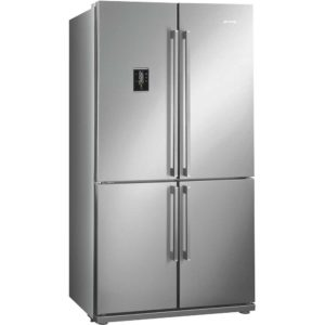 Smeg FQ60XPE Four Door Fridge Freezer Non Ice & Water – STAINLESS STEEL