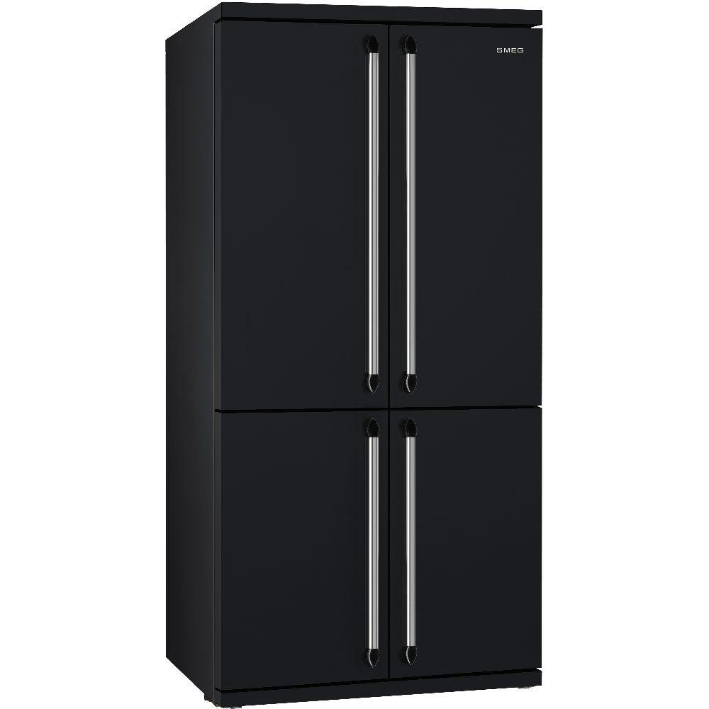 Smeg FQ960BL5 Victoria American Style Four Door Fridge Freezer - BLACK