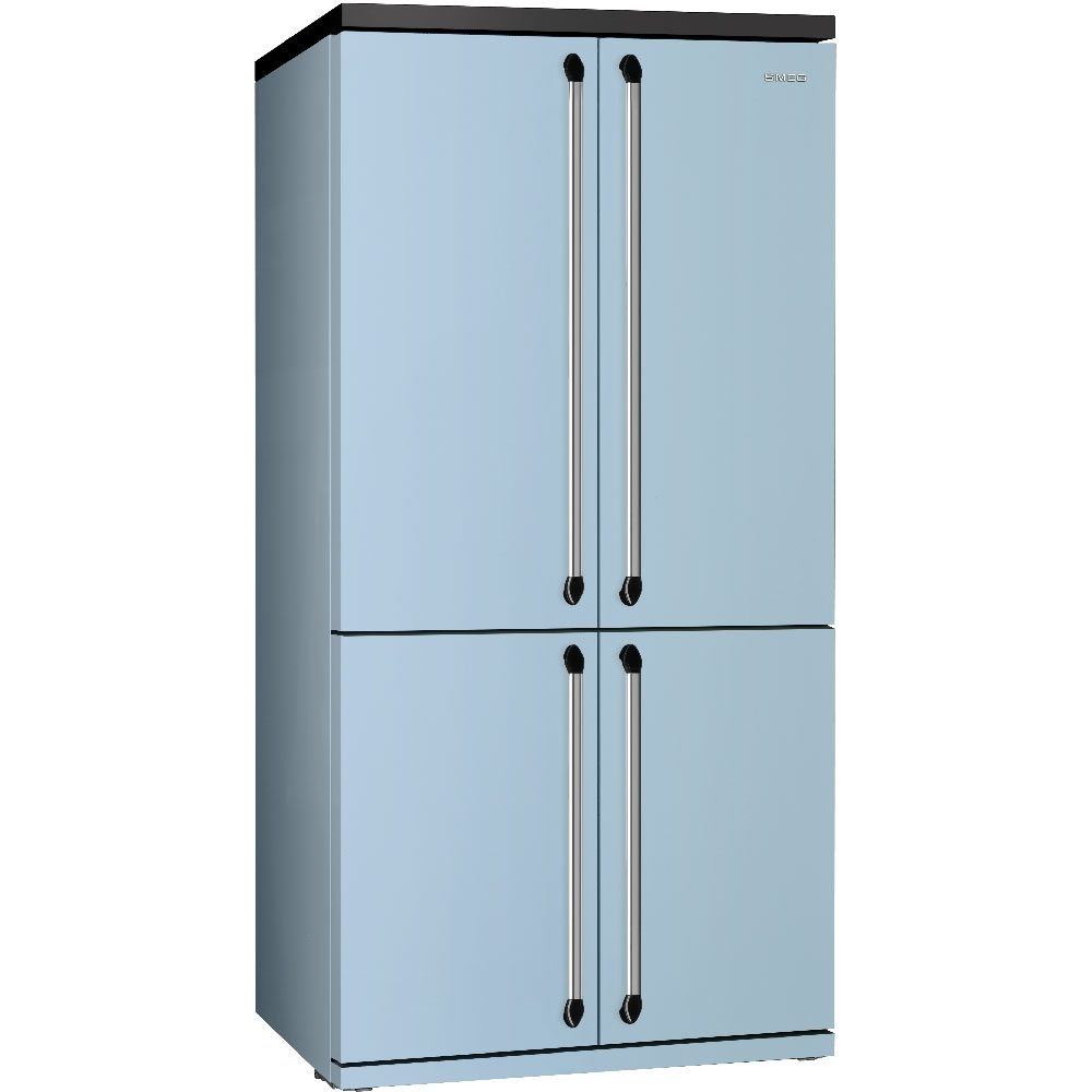 Smeg FQ960PB5 Victoria American Style Four Door Fridge Freezer - PASTEL BLUE