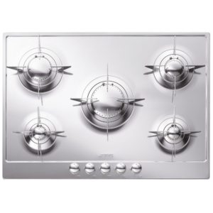 Smeg P705ES 72cm Piano Gas Hob – STAINLESS STEEL
