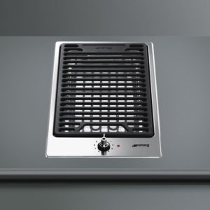 Smeg PGF30B Ultra Low Profile Modular Barbecue Hob – STAINLESS STEEL
