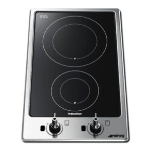 Smeg PGF32I-1 Ultra Low Profile Domino Induction Hob – STAINLESS STEEL