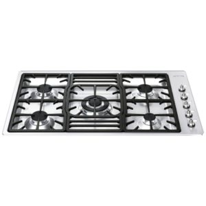 Smeg PGF95-4 90cm Ultra Low Profile Gas Hob – STAINLESS STEEL