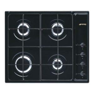 Smeg S64SN 60cm Cucina Gas Hob – BLACK
