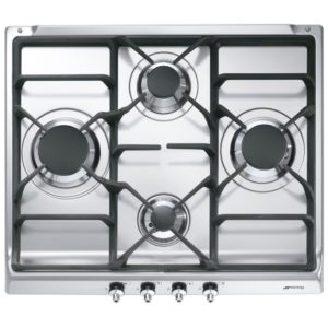 Smeg SE60SGH3 60cm Classic Gas Hob – STAINLESS STEEL