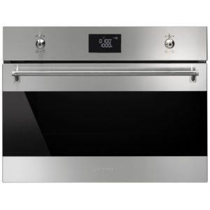 Smeg SF4390MCX Classic Built In Combination Microwave – STAINLESS STEEL