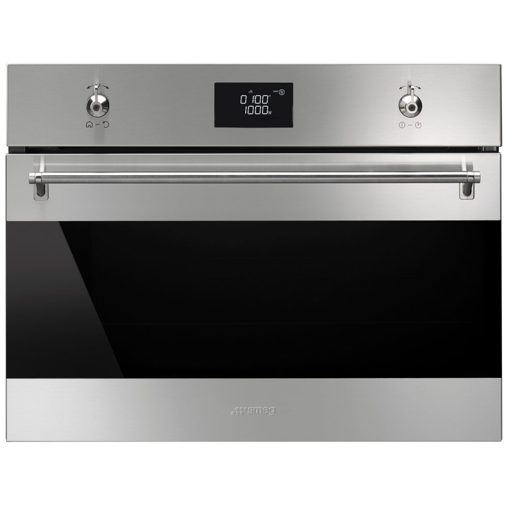 Smeg SF4390MCX Classic Built In Combination Microwave - STAINLESS STEEL