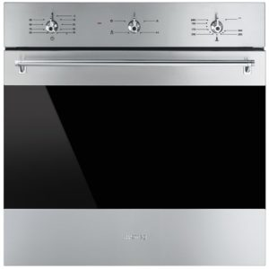 Smeg SF6341GVX Classic Single Gas Multifunction Oven – STAINLESS STEEL