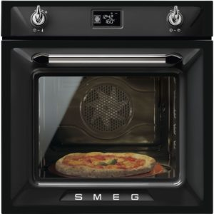 Smeg SF6922NPZE1 Victoria Built In Single Oven – BLACK