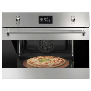 Smeg SFP4390XPZ Compact Classic Pyrolytic Multifunction Pizza Oven – STAINLESS STEEL