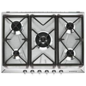 Smeg SR975XGH 70cm Victoria 5 Burner Gas Hob – STAINLESS STEEL