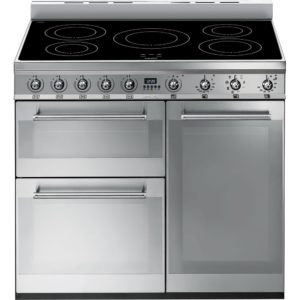Smeg SY93I 90cm Symphony Induction Range Cooker – STAINLESS STEEL