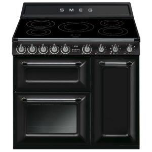 Smeg TR93IBL 90cm Victoria Induction Range Cooker – BLACK