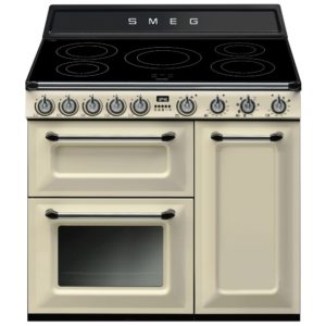 Smeg TR93IP 90cm Victoria Induction Range Cooker – CREAM