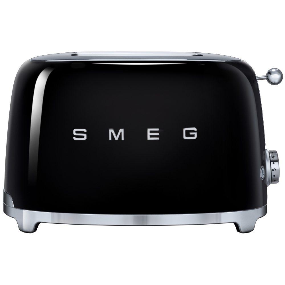 Smeg TSF01BLUK Retro 2 Slice Toaster - BLACK