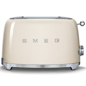 Smeg TSF01CRUK Retro 2 Slice Toaster – CREAM