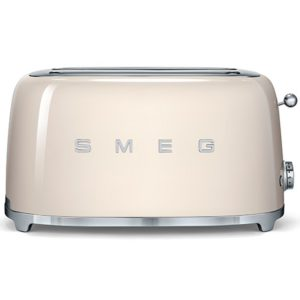 Smeg TSF02CRUK Retro 4 Slice Toaster – CREAM