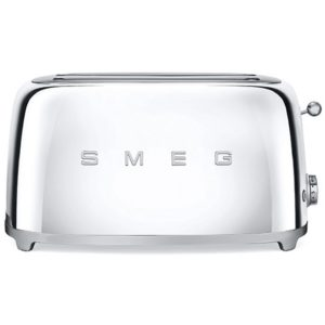 Smeg TSF02SSUK Retro 4 Slice Toaster – CHROME